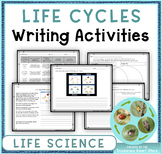 Life Cycles: Writing Activities and Rubrics (NGSS 3-LS1-1)