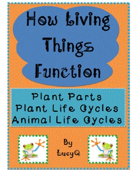 Life Cycles and Plant Parts - SCOOT and I Have...Who Has... Games