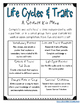 Third Grade NGSS - Life Cycles and Traits Activities