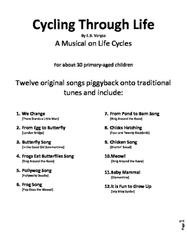 Life Cycles in Song