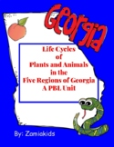 Life Cycles  of  Plants and Animals  and the  Five Regions