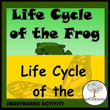 Life Cycles of the Butterfly and Frog | Smartboard Activity