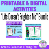 Life Doesn't Frighten Me BUNDLE Printable & Digital Activi