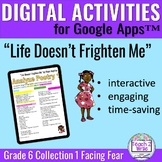 Life Doesn't Frighten Me Digital Activities for Collection