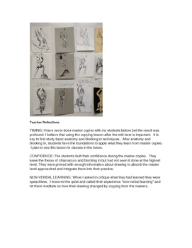 Life Drawing Lesson Plan - Copies from Old Masters