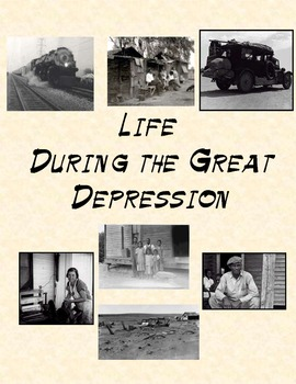 Life During the Great Depression reading