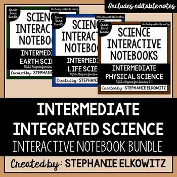 Intermediate Integrated Science Interactive Notebook Bundle