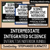 Intermediate Integrated Science Interactive Notebook Bundle
