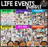 Life Events Clip Art Bundle