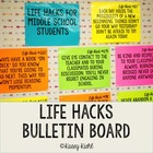 Life Hacks Posters Bulletin Board
