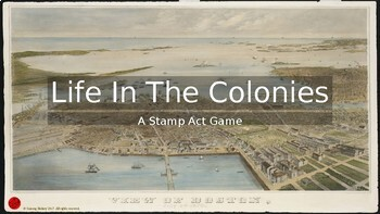 Life In The Colonies Game