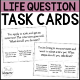 Daily Lessons / Daily Question Task Cards / Life Skills Ta