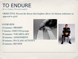 Life Lessons: Endurance (To Endure)