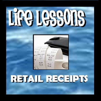 Life Lessons - Receipts