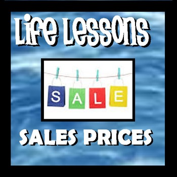 Sales Prices - Life Lessons