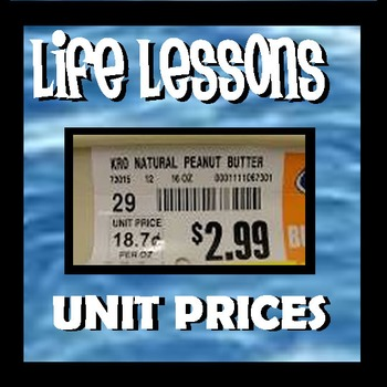 Unit Prices - Life Lessons