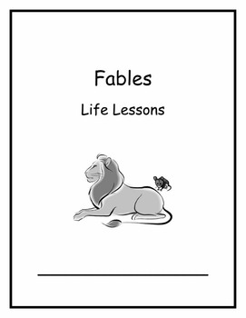Life Lessons Unit Week 2 Fables 1st Grade Common Core Curriculum Map Lesson Plan