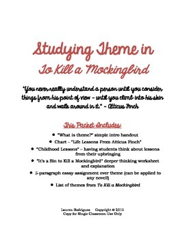 Life Lessons in To Kill a Mockingbird: Analyzing the Novel