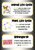 Life & Living - Biological Sciences – Vocabulary Posters -