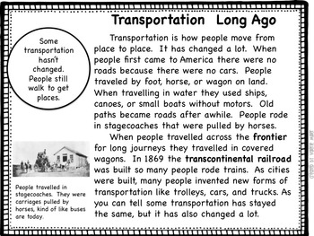 Life Long Ago -Common Core Informational Text Unit