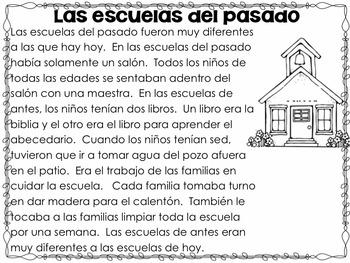 Life Long Ago in Spanish