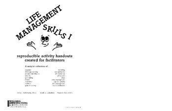 Life Management Skills Book I