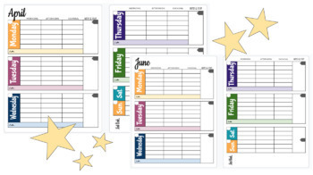 Life Planner/Calendar Dec. 2019- Dec. 2020 Large Two-Page Layout