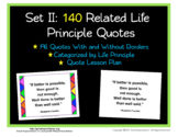 Life Principle Quote Posters Set 2