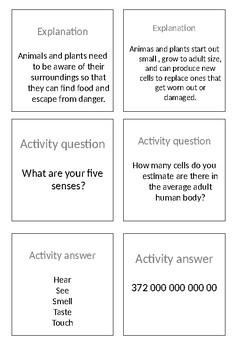 Life Processes - MRS GREN Activity