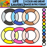 Life Savers - Colorful Cliparts Set - 11 Items