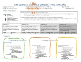 Life Science 11 Course Outline - BC New Curriculum and Assessment