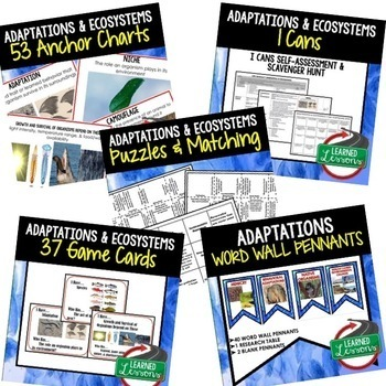 Life Science Adaptations BUNDLE  (Life Science Bundle)