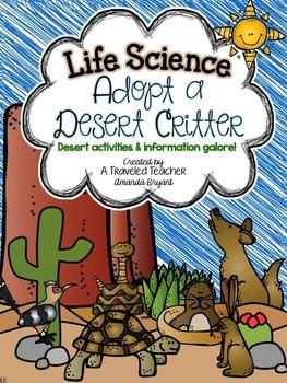Life Science - Adopt a Desert Critter