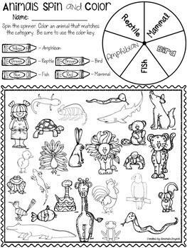 Life Science - All Kinds of Animals Companion Pack