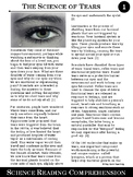 Life Science Article #1--The Science of Tears