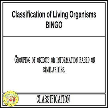 Life Science BINGO