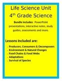 Life Science BUNDLE - 4th Grade Science