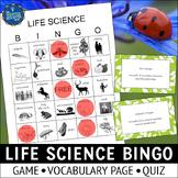 Organisms and Environments Bingo