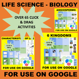 Life Science - Biology - Distance Learning GOOGLE Sort and