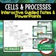 Life Science, Biology Interactive Guided Notes & PowerPoints NGSS BUNDLE Google