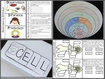 Life Science Interactive Notebook Complete Bundle
