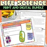 Life Science Bundle of Nonfiction Readings Hands on Inquiry Activity and Project