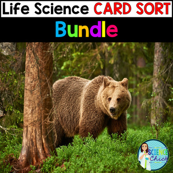 Life Science Card Sort - Growing Bundle