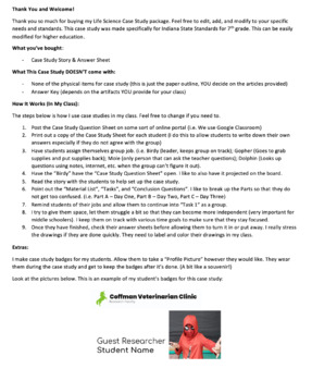 Life Science Case Study