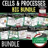 Cells BUNDLE  (Life Science Bundle) Google Classroom Activ
