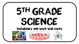Life Science Cells and Classification Word Wall Cards and Vocabulary