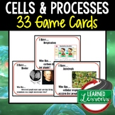 Life Science Cells and Processes I Have Who Has Game Cards