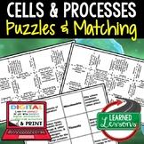 Cells Activity Puzzles Digital Interactive Notebook, Googl