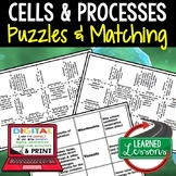 Cells & Processes Puzzles Digital Interactive Notebook, Go