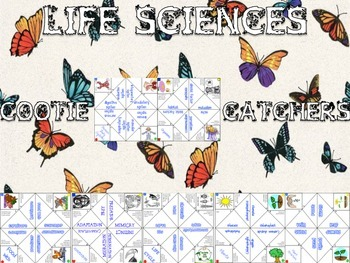 Life Science Cootie Catchers